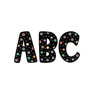 Creative Teaching Press™ Designer Letter, Dots, Black, 7in.