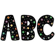 Creative Teaching Press Designer Letter, Dots, Black, 7""