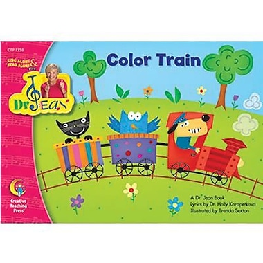 Creative Teaching Press™ Sing and Read Color Train Book By Dr. Jean Feldman, Grades Pre School - 1st