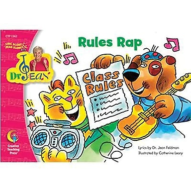 Creative Teaching Press™ Rules Rap Book By Dr. Jean Feldman, Grades Pre School - 1st