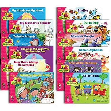 Creative Teaching Press™ Dr. Jean Variety Pack Sing Along and Read Along Book, Grades Pre K - 1st