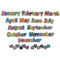 Creative Teaching Press™ Poppin' Patterns® 12 Months Headlines Cut-Outs, Months of The Year