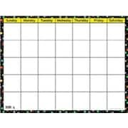 Creative Teaching Press™ Dots On Black Calendar Chart, Small