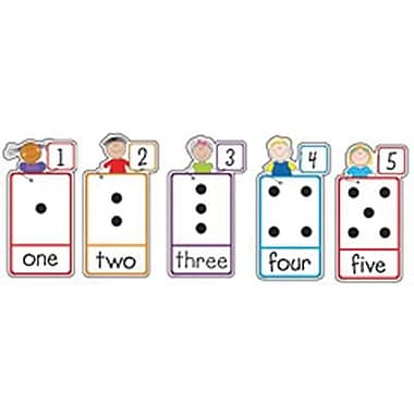 Creative Teaching Press™ Bulletin Board Set, Number Stick Kid's