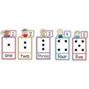 Creative Teaching Press Bulletin Board Set, Number Stick Kid's