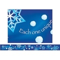 Creative Teaching Press™ pre-school - 12th Grades Straight Bulletin Board Border, Falling Snow