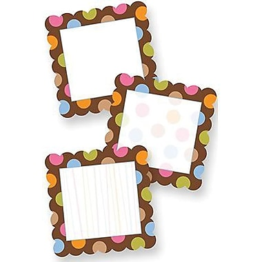 Creative Teaching Press™ Dots On Chocolate® 6in. Designer Cut-Outs, Blank, Dots, 3 Designs