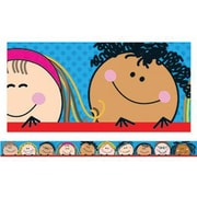Creative Teaching Press pre-school-12th Grades Straight Bulletin Board Border, Smiling Stick Kid's®