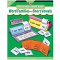 Creative Teaching Press™ Build-A-Skill Instant Book, Word Families-Short Vowels, Grades K-1st