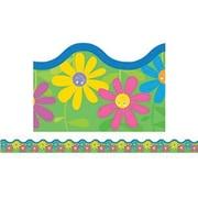 Creative Teaching Press™ preschool - 12th Grades Scalloped Bulletin Board Border, Flower Power