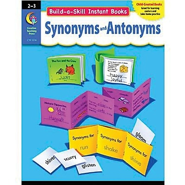 Creative Teaching Press™ Build-A-Skill Instant Book, Synonyms and Antonyms, Grades 2nd -3rd