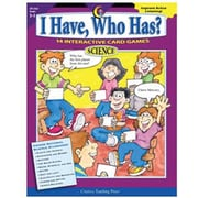 Creative Teaching Press I Have, Who Has? Science Game Book, Grades 3rd - 5th