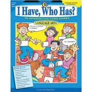 Creative Teaching Press™ I Have, Who Has? Language Arts, Grades 3rd - 4th