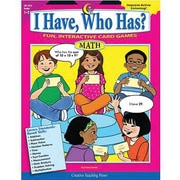 Creative Teaching Press I Have, Who Has? Math Activity Book, Grades 1st - 2nd