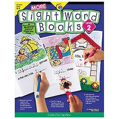 Creative Teaching Press™ More Sight Word Book, Level 2