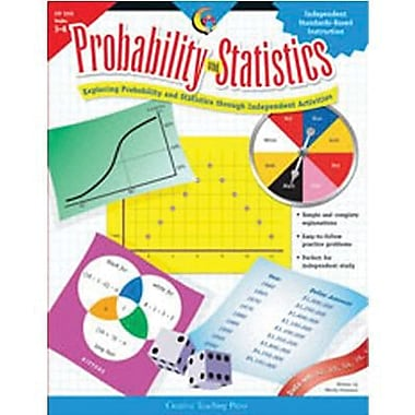 Creative Teaching Press™ Probability and Statistics Book, Grades 5th - 8th