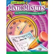 Creative Teaching Press Math Minutes Book, Grades 4th