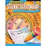 Creative Teaching Press Math Minutes Book, Grades 7th