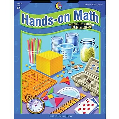 Creative Teaching Press™ Hands-On Math Book, Grades 4th -5th