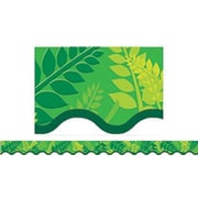 Creative Teaching Press™ preschool - 12th Grades Scalloped Bulletin Board Border, Fern Leaves