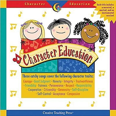 Creative Teaching Press™ Character Education CD, Grades Kindergarten - 3rd