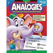 Creative Teaching Press™ Analyzing Relationships Between Words Analogies Book, Grades 2nd - 4th