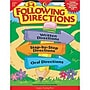 Creative Teaching Press Following Directions Book, Grades 3rd