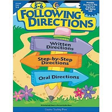 Creative Teaching Press™ Following Directions Book, Grades 5th - 6th