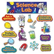Creative Teaching Press Bulletin Board Set, Science Lab