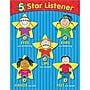 Creative Teaching Press 5-Star Listener Small Chart
