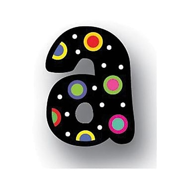 Creative Teaching Press™ Letter Stickers, Dots On Black Lowercase