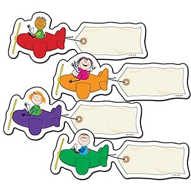 Creative Teaching Press™ Stick Kid's® 6in. Designer Cut-Outs Variety Pack, Airplanes