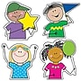 Creative Teaching Press 6 Designer Cut-Outs Variety Pack,