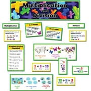 Creative Teaching Press Mini Bulletin Board Set, Multiplication and Division