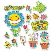 Creative Teaching Press Bulletin Board Set, Spring Garden