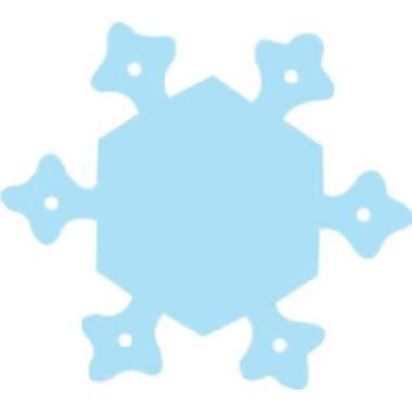 Creative Teaching Press™ 3in. Calendar Cut-Outs, Snowflake