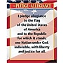 Creative Teaching Press The Pledge Of Allegiance Chart