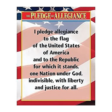 Creative Teaching Press™ The Pledge of Allegiance Chart