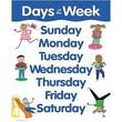 Creative Teaching Press™ Days of The Week Basic Skills Chart