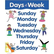 Creative Teaching Press™ Days of The Week Basic Skills Chart