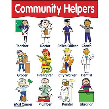 Creative Teaching Press™ Community Helpers Basic Skills Chart
