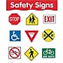 Creative Teaching Press Safety Signs Basic Skills Chart