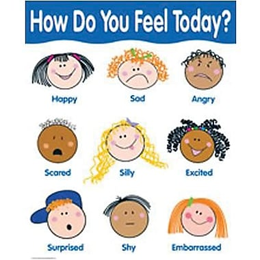 Creative Teaching Press™ How Do You Feel Today? Basic Skills Chart