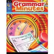 Creative Teaching Press Grammar Minutes Book, Grades 3rd