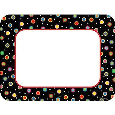 Creative Teaching Press™ 6in. Poppin Patterns® Designer Cut-Outs, Dots On Black Cards