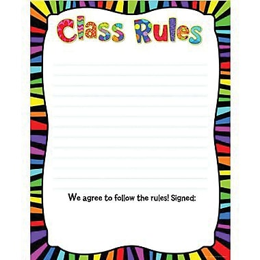 Creative Teaching Press™ Class Rules Classroom Essentials Chart