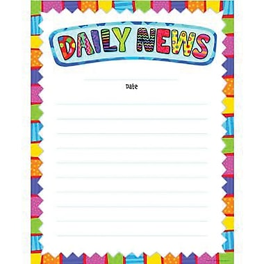 Creative Teaching Press™ Daily News Classroom Essentials Chart