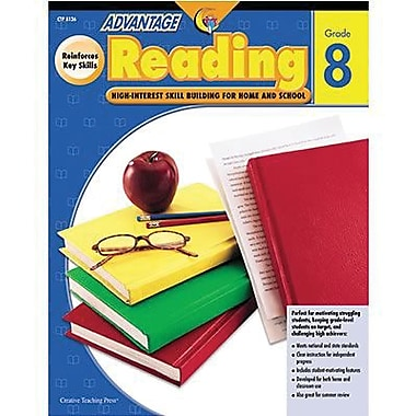 Creative Teaching Press™ Advantage Reading Book, Grades 8th