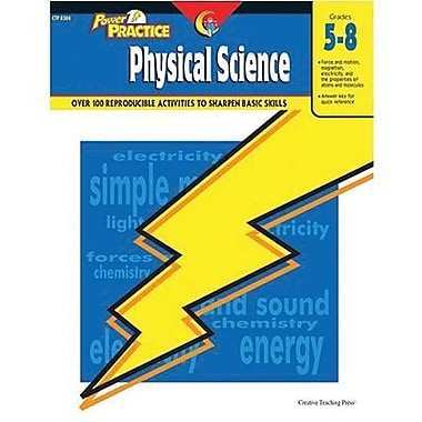 Creative Teaching Press™ Power Practice Physical Science Book, Grades 5th - 8th