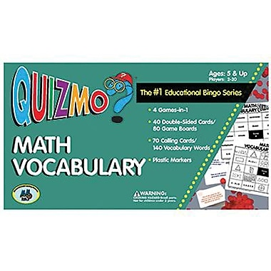 Learning Advantage™ Math Vocabulary Quizmo